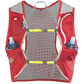 CamelBak Nano 17 Hydration Pack Vest with Quick Stow Flask, crimson red/lime punch